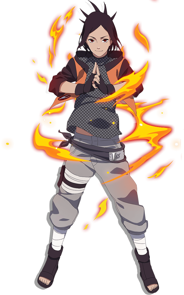 Scarlet Blaze render [Naruto OL] by maxiuchiha22 on