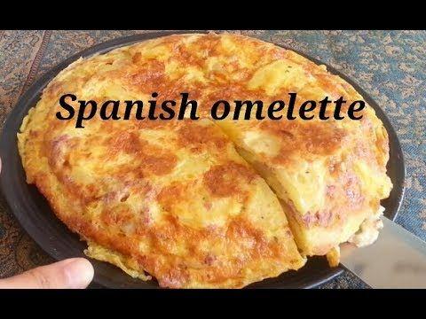 Telur Dadar Ala Spanyol Spanish Omelette Youtube Makanan Dan Minuman Makanan Telur