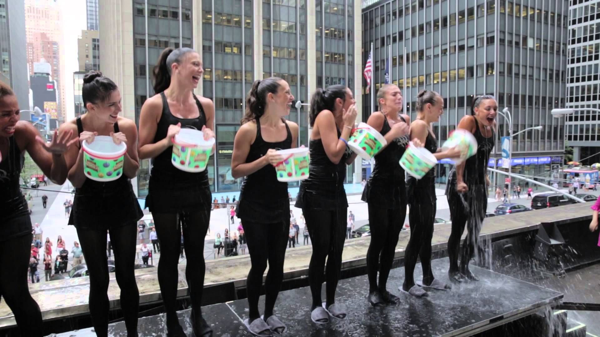 Rockettes Take the Ice Bucket Challenge!