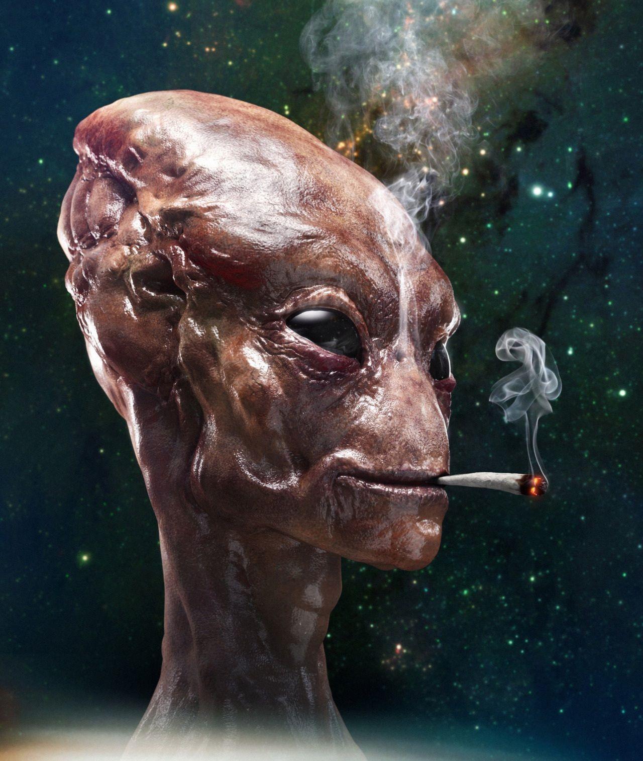 Смешные картинки инопланетянин, открытка