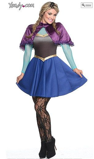52ad8413ecb Racy women s Halloween costumes inspired by Olaf and Elsa from ...