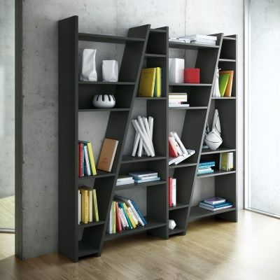 steps shelving unit w190cm | bookcases | dining room | living room
