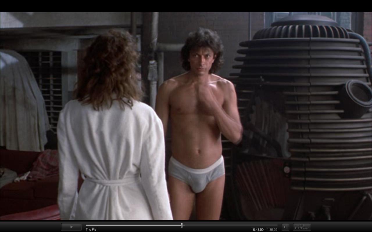 Jeff Goldblum - The Fly   Lingerie in Film   Pinterest Rosie Huntington Whiteley Clothing