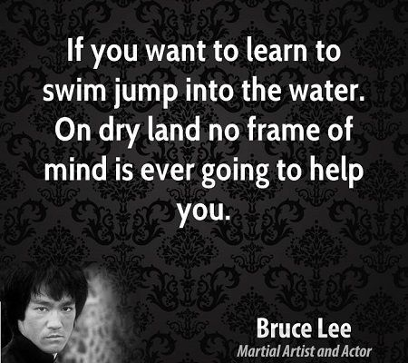 Bruce Lee Water Quotes