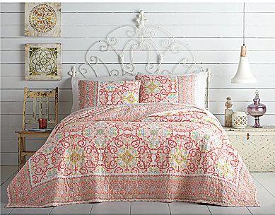 Jessica Simpson Alila Bordered Floral Medallion Quilt Mini Set - $99.99