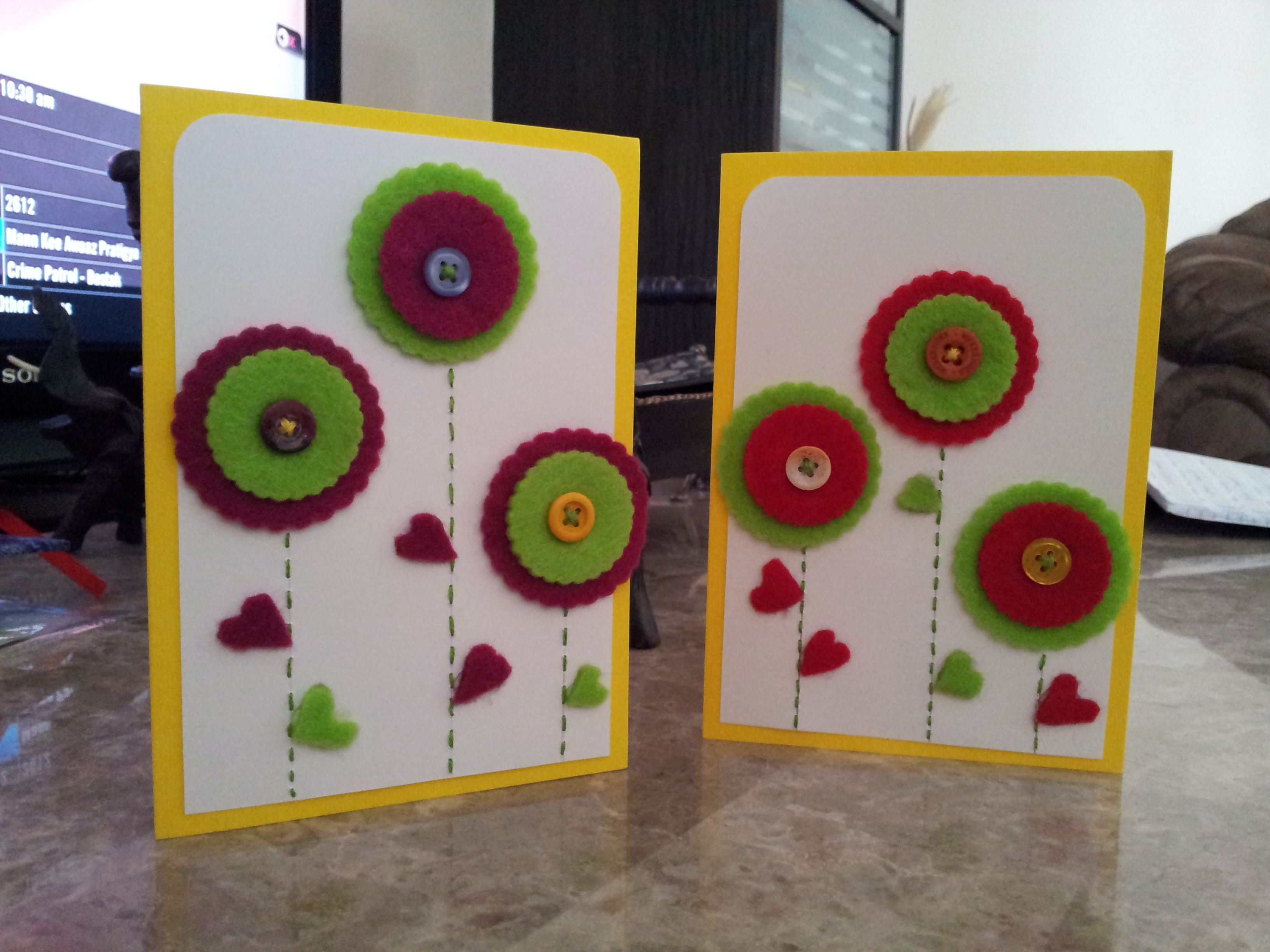 Hand Card Making Ideas Part - 33: Happy New Year Card Making Handmade Designs Samples Images 2018 - Greetings  Quotes Wishes Messages