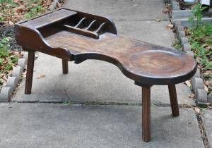 Cobbler S Bench Primitive Furniture Antique Tools Old Tools