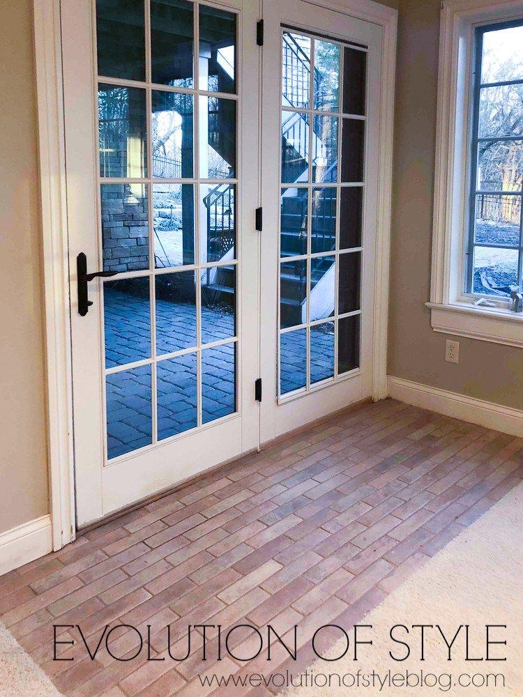 A Guide How To Install Brick Floor Tile Brick Flooring Brick Tiles Brick