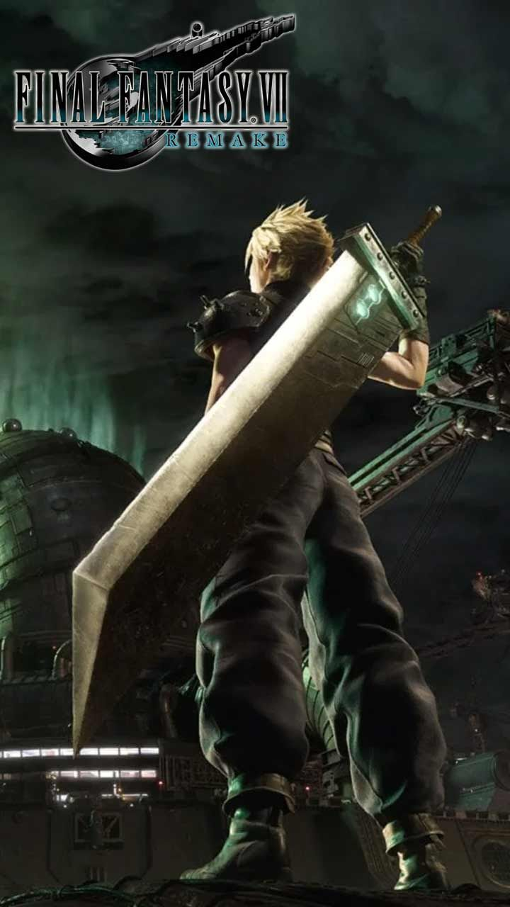 Final Fantasy 7 Remake Wallpaper Hd Phone Backgrounds Ps4 Game Art Poster Logo On Iphone Android Final Fantasy Fantasy Final Fantasy Vii Remake