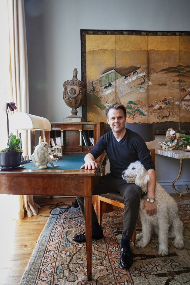 Inside Designer Adam Lippes's New York City Home: We visited his Washington Square Park townhouse a week before his NYFW presentation to snoop through his collections, and pet his two matching labradoodles.   Coveteur.com