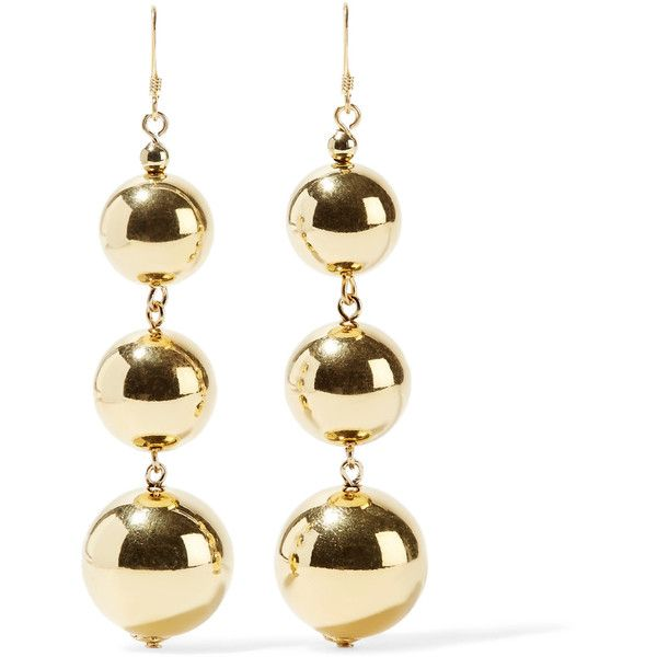 Gold-tone Earrings - one size Kenneth Jay Lane Kruxe1s0L