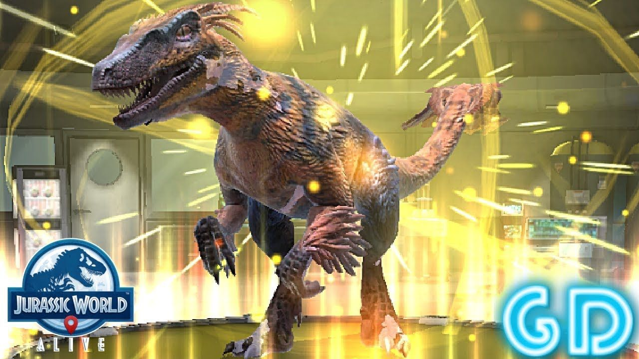 Jurassic World Alive - Epic Pyroraptor | Best Android & iOS