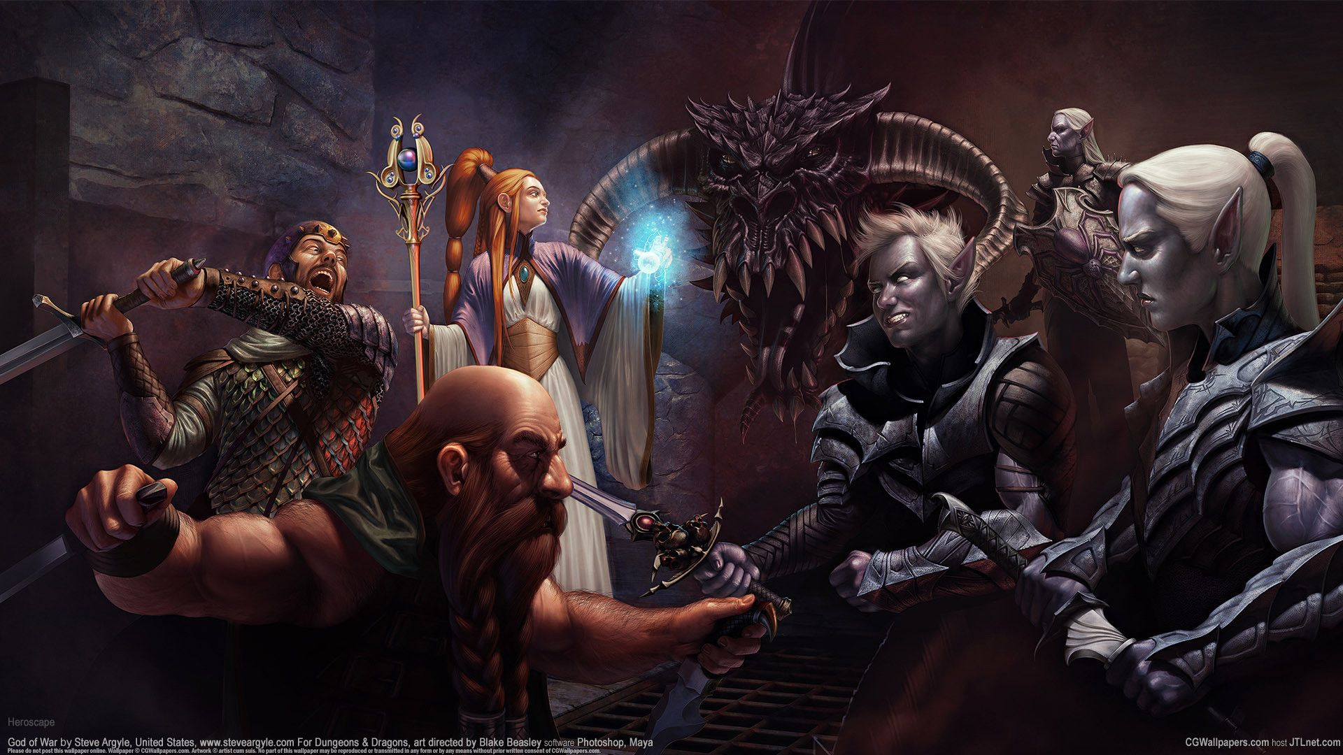 1920x1080 Dnd Wallpapers Dungeons And Dragons Art Dark Elf