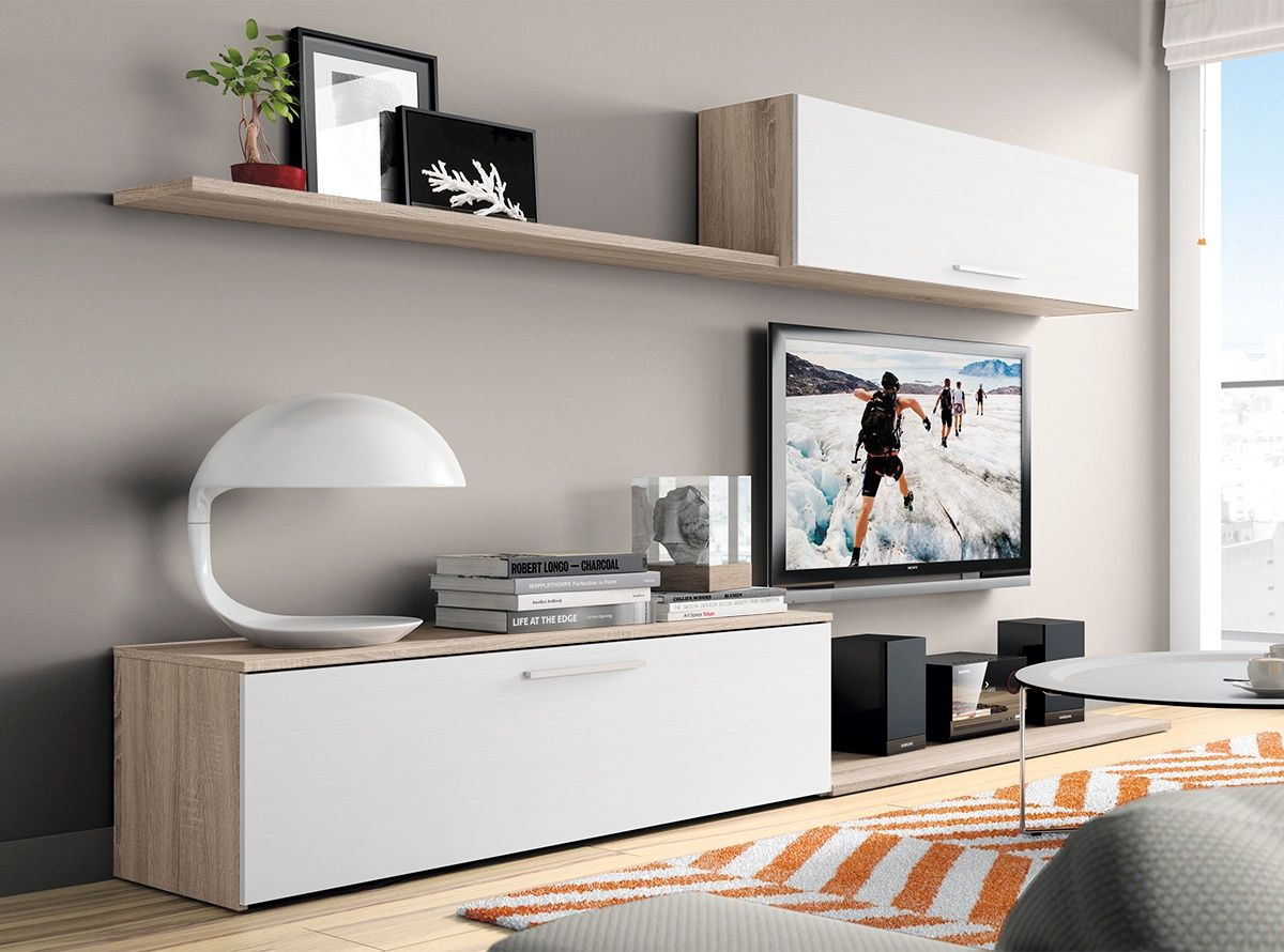 Muebles de salon modelo abril 5 muebles la fabrica - Modelos de muebles de salon ...