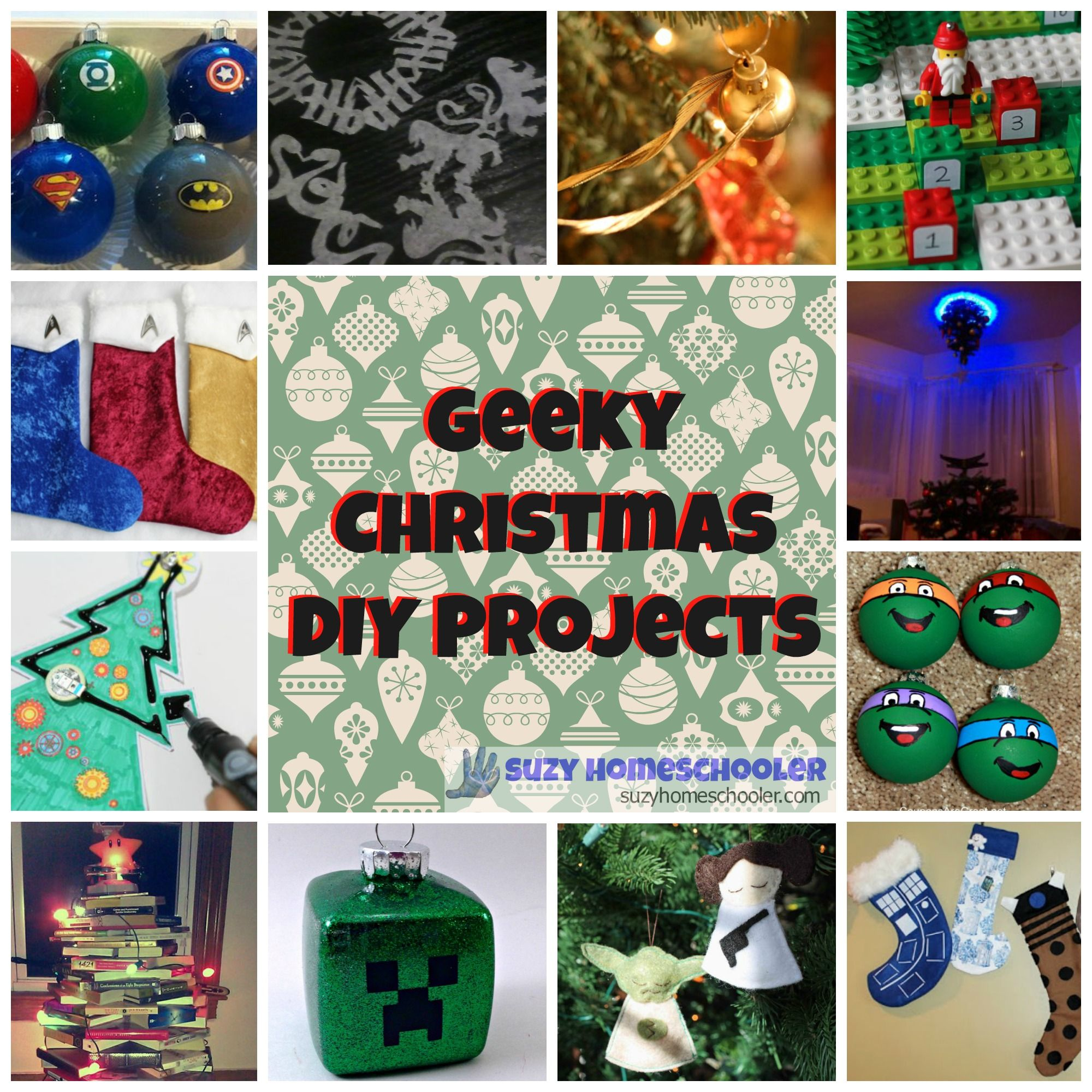Geeky Christmas DIYs and a MEGA CASH GIVEAWAY | Suzy ...