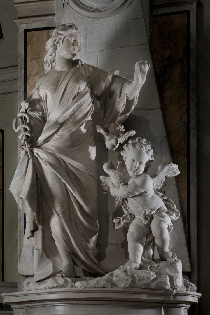 Museo Cappella Sansevero.Sincerita Francesco Queirolo 1754 55 Museo Cappella Sansevero Napoli