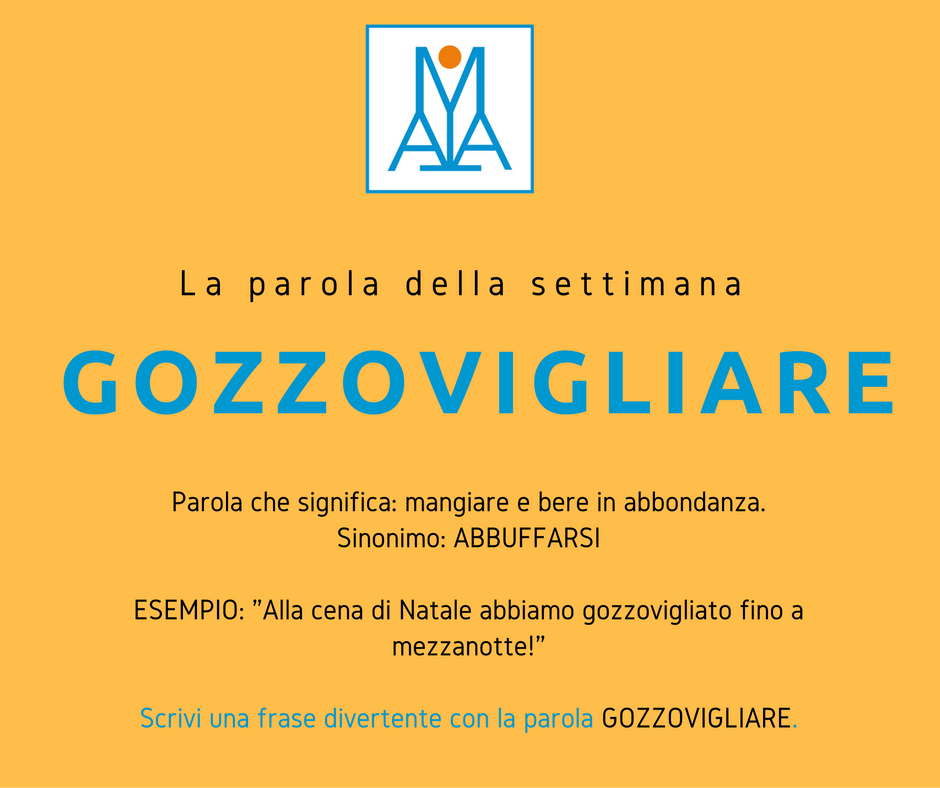 Cosa Significa Gozzovigliare Parole Italiane Italia E