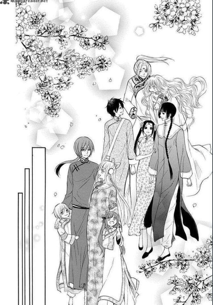 Strange Dragon Ch.12 Are those Isara and Hibana's kids?!??!!