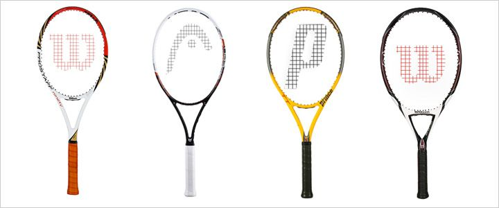 Selecting The Right Tennis Racquet Head Size Length Tennis Racquets Tennis Racquet