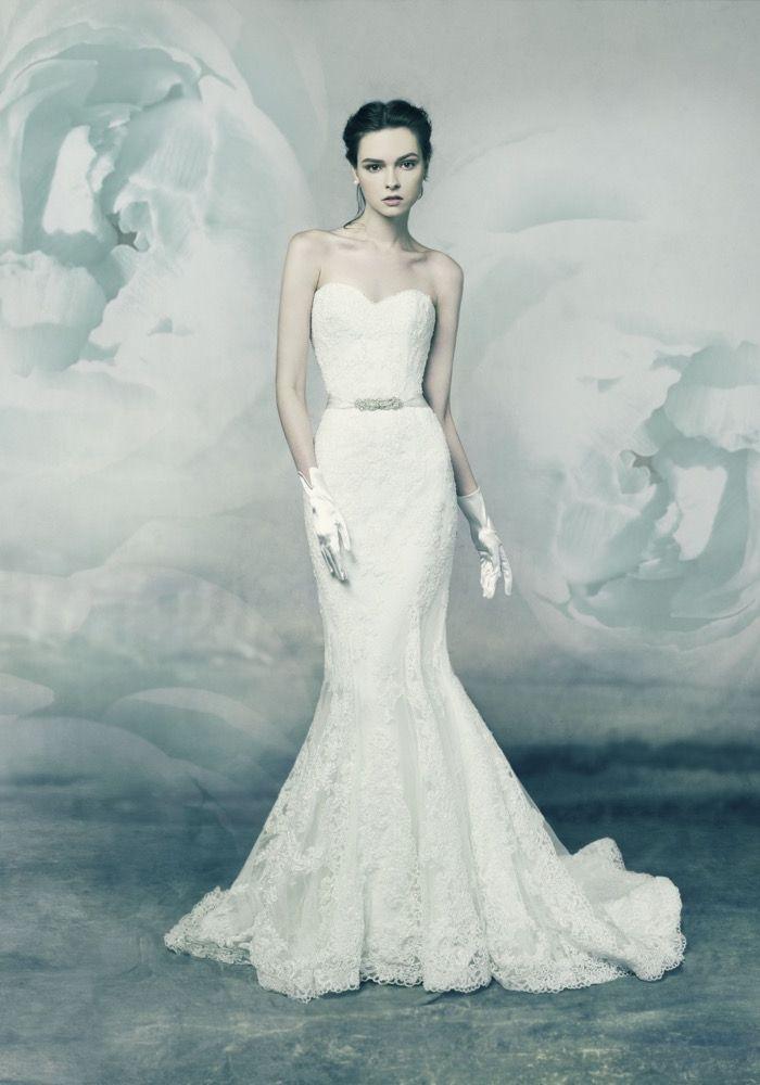 Annasul Y | Classic Mermaid Wedding Dress | Hong Kong | Designer ...