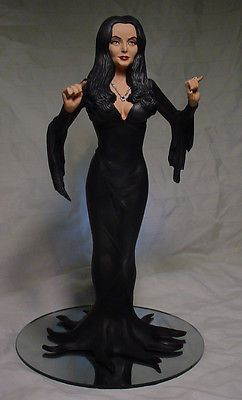 addams family morticia addams family morticia addams statue w octopus dress professional. Black Bedroom Furniture Sets. Home Design Ideas