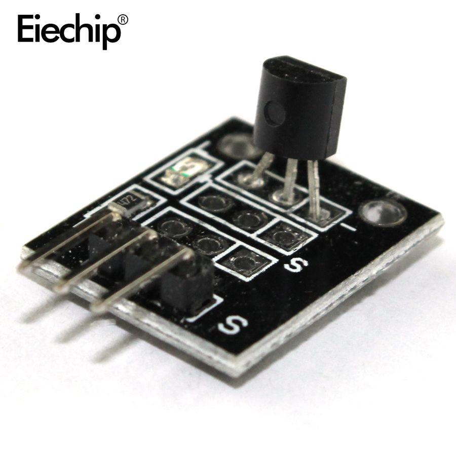 1pcs/lot KY-001 3pin DS18B20 Temperature Measurement Sensor