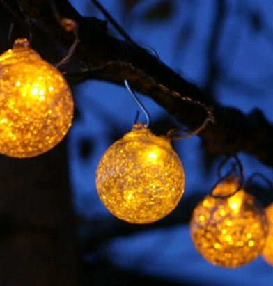 amber hand blown solar glass lights Outdoor Decorating Pinterest - solar christmas decorations