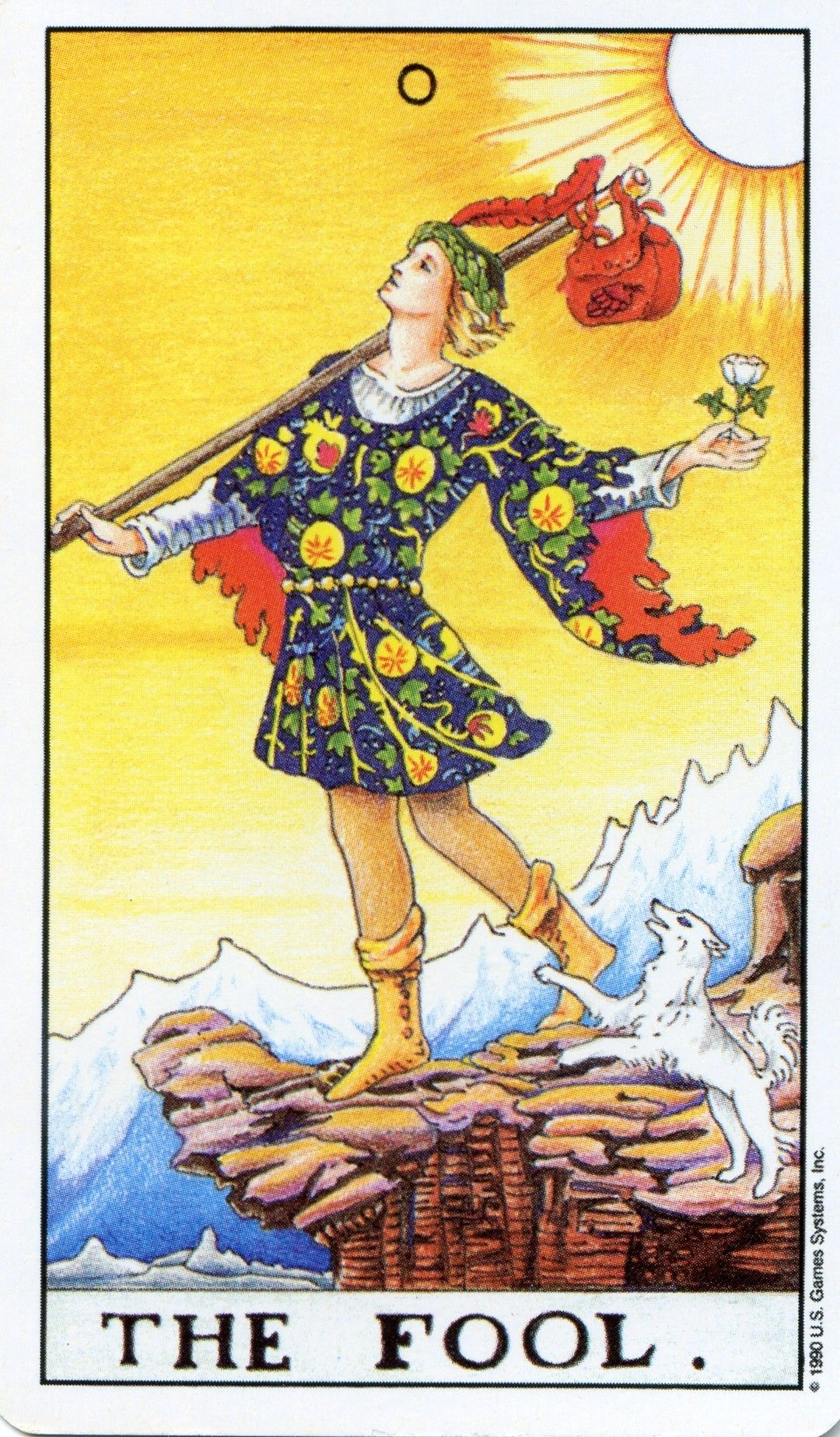 Tarot Cards And Important Life Events: Fool From The Universal Waite Tarot