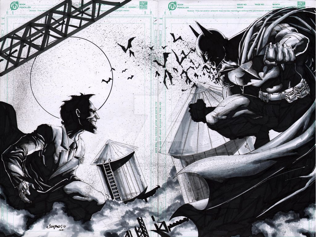 Batsy vs Joker by Jimbo02Salgado on DeviantArt