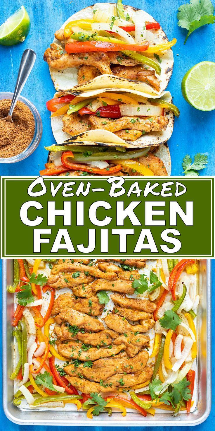 Baked Chicken Fajitas images