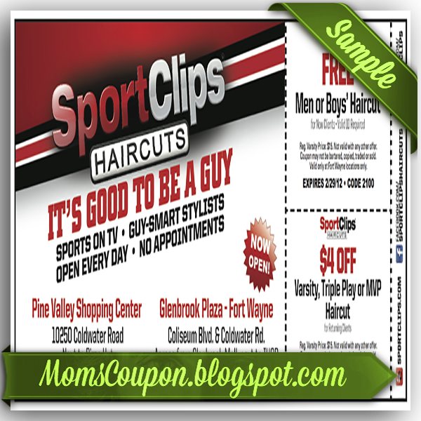 Sports Clips 10 off coupon code moving February 2015