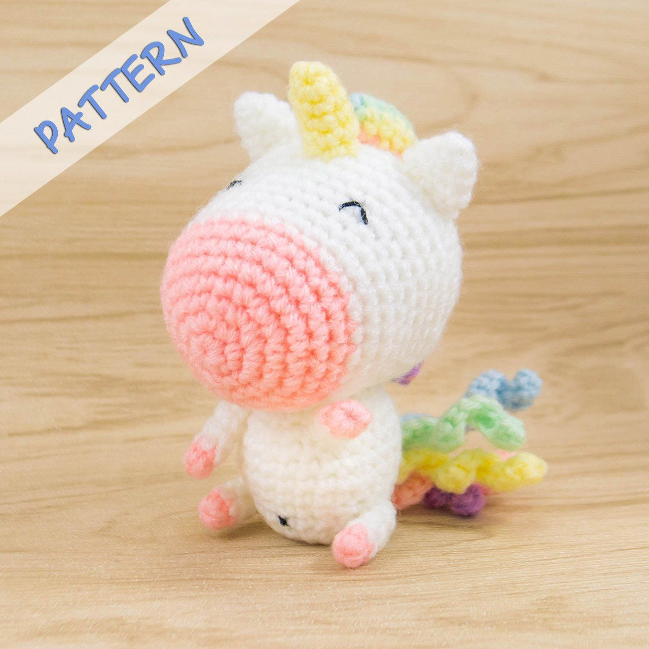 10+ Crochet Unicorn with Free Patterns | Patrón de conejito de ... | 1280x1280
