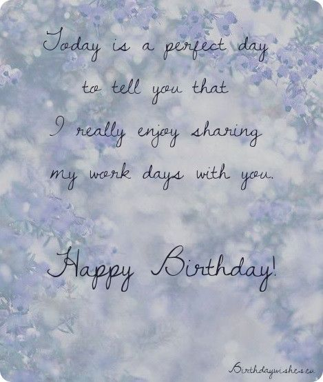 Professional Happy Birthday Quotes: Happy Birthday Wishes For Colleague