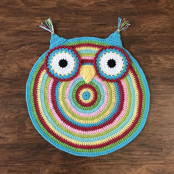Owl Rug Crochet Pattern Choice Image Knitting Patterns Free Download