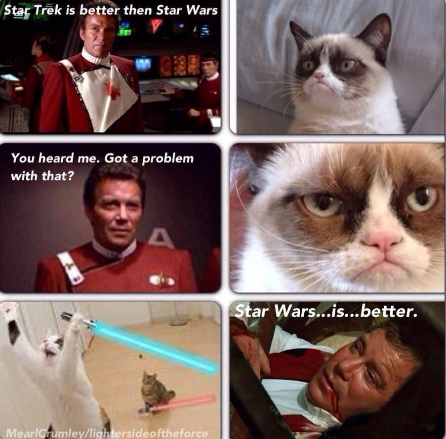 Pin By Abby W On Star Wars Gasms Star Wars Humor Star Wars Awesome Grumpy Cat