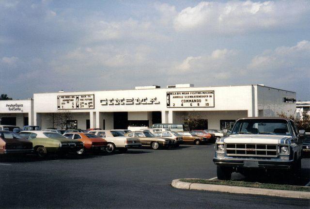 Southpark Mall Cinemas Urban History Movie Marquee Queen City