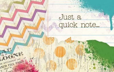Don't forget! Write quick notes to your students and they'll be sure to smile!