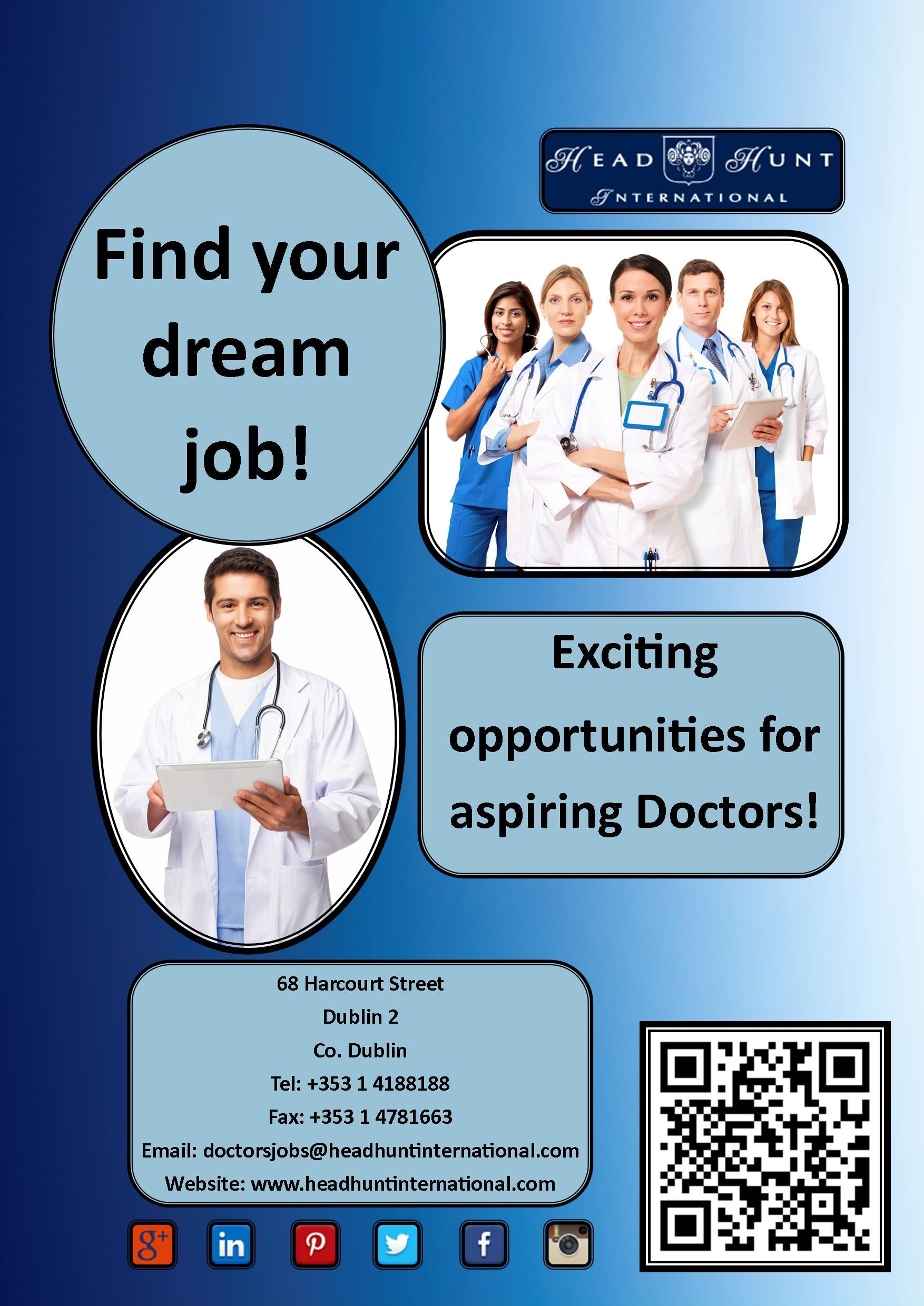Job Hiring Doctor Nursing Medical Healthcare Opportunity