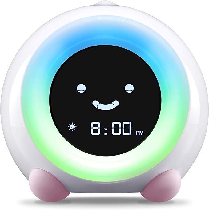 Toddler Night Light Clock