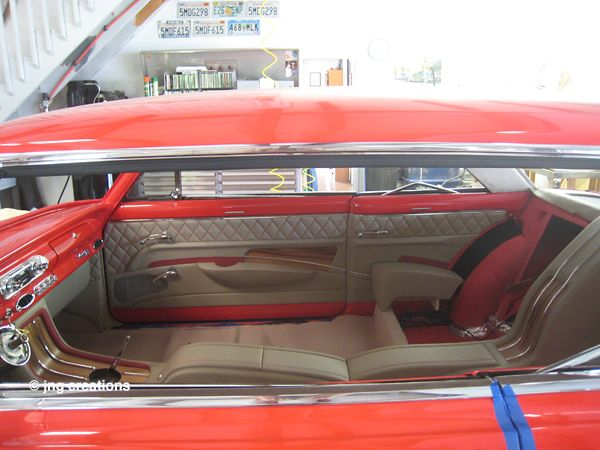 Package Tray And Quarter Panels Are Complete In The 1963 Chevy Nova Ii Chevy Nova Chevy Custom Car Interior