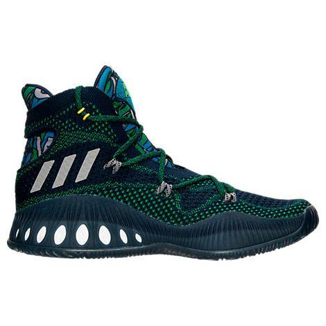 quality design a8036 ed386 Mens adidas Crazy Explosive Primeknit Basketball Shoes - B42406  B42406-NVY Finish Line