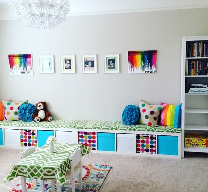 32 Clever Playroom Organization Ideas and Hacks images