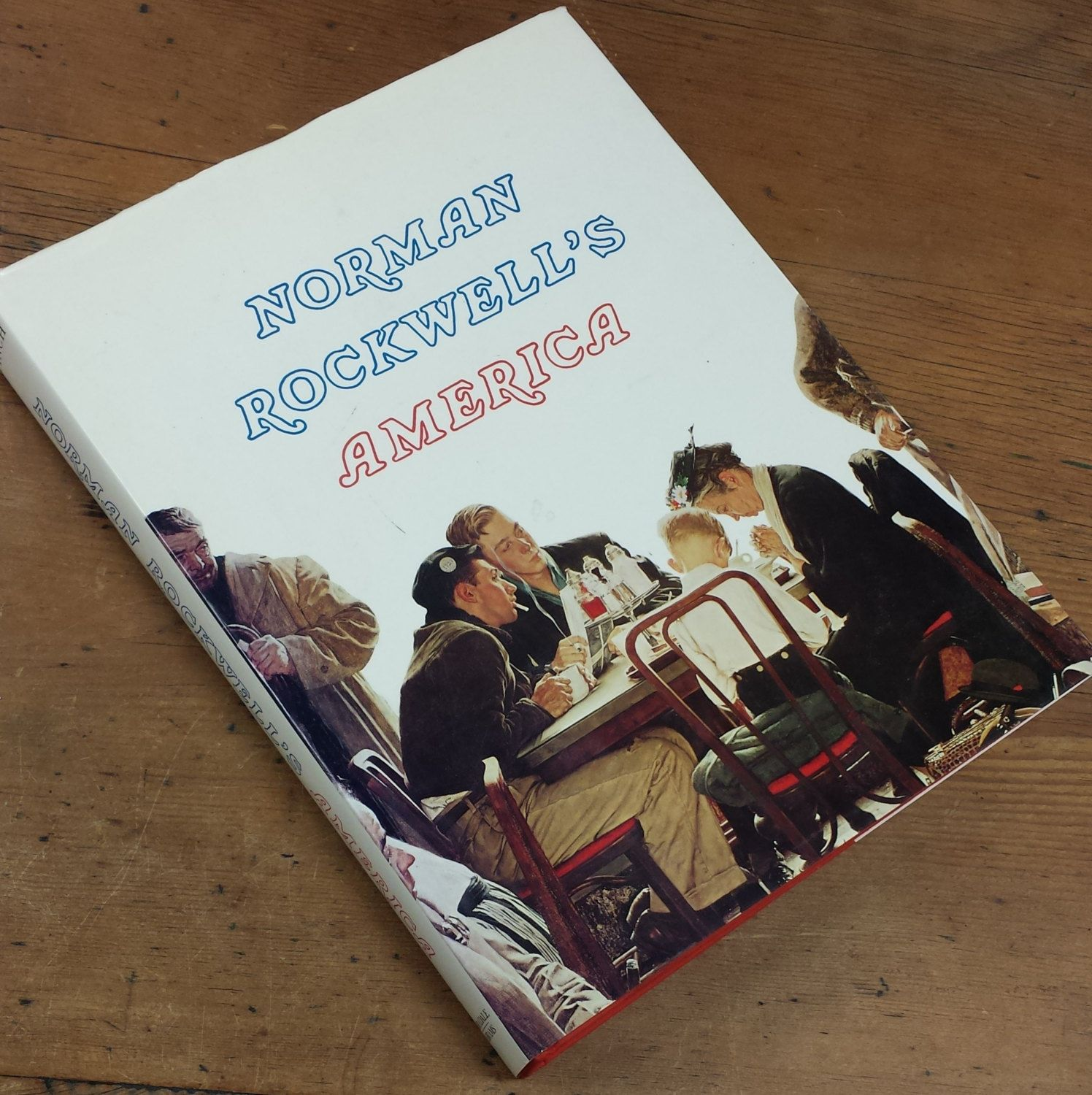 Norman Rockwell s America Coffee Table Illustrated Hardcover