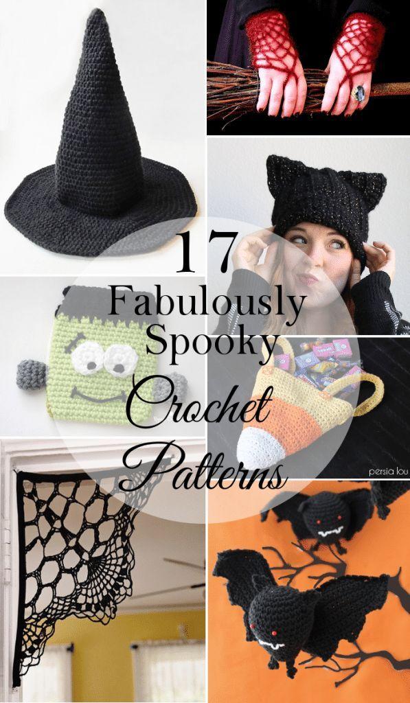 17 Fabulously Spooky Halloween Crochet Patterns | Crochet ...