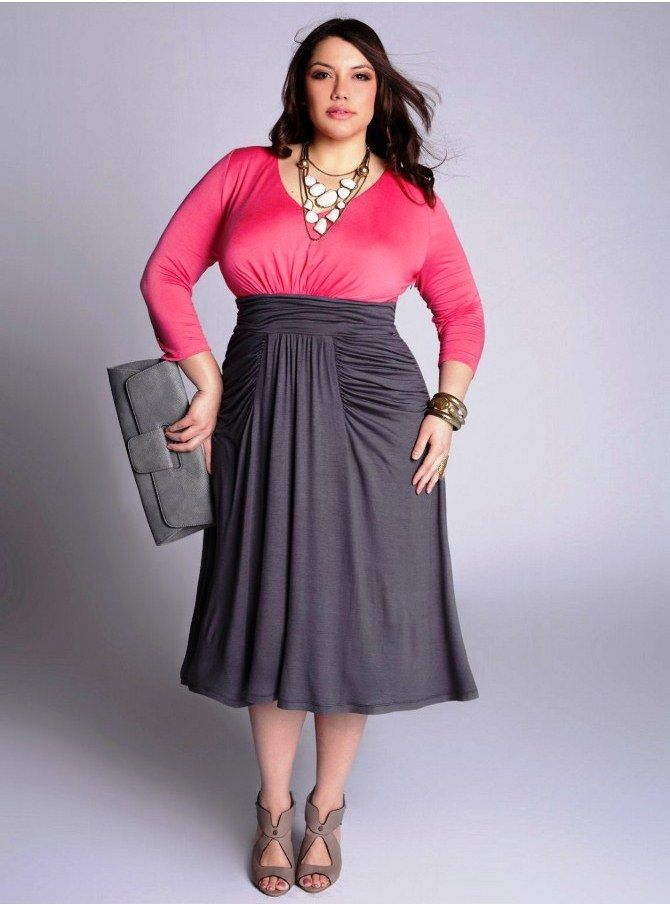 1000  images about Curvy and stylish on Pinterest - Plus dresses ...