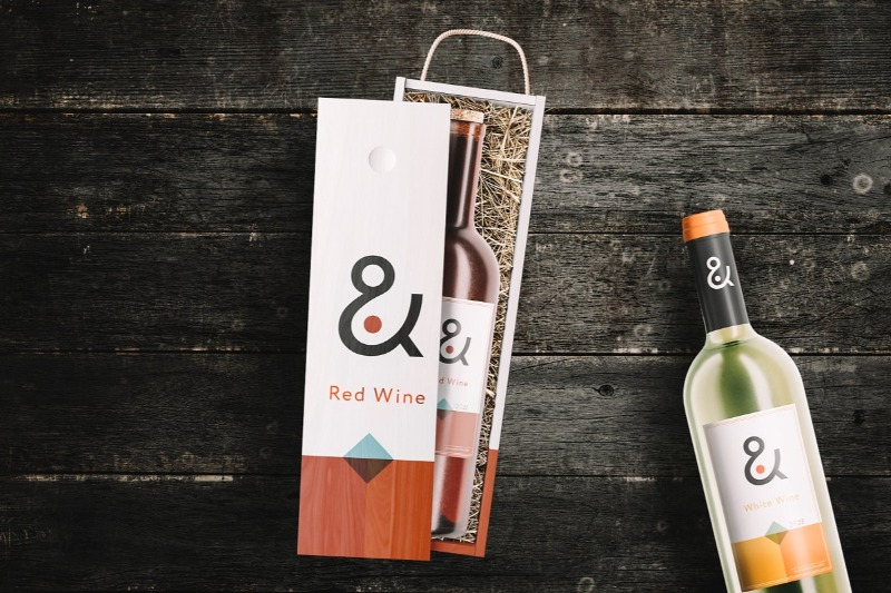 Download 15 Wine Box Mockup Packaging Psd Templates Texty Cafe Packaging Mockup Craft Business Cards Wine Box