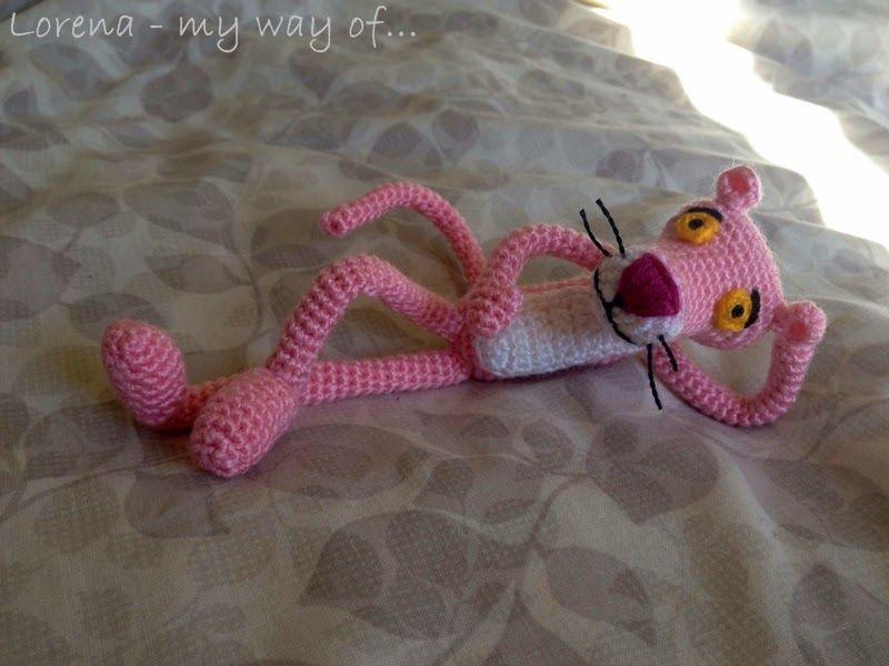 my way of...: Amigurumi Pink Panther / Pantera Rosa | Ideas para ...