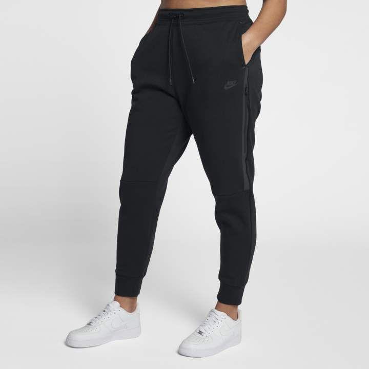 Nike sportswear tech fleece womens pants plus size