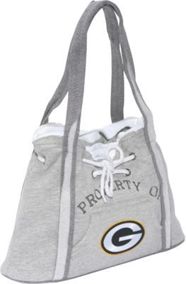Littlearth NFL Hoodie Purse Grey Green Bay Packers Green Bay Packers - via  eBags.com! a01972b85