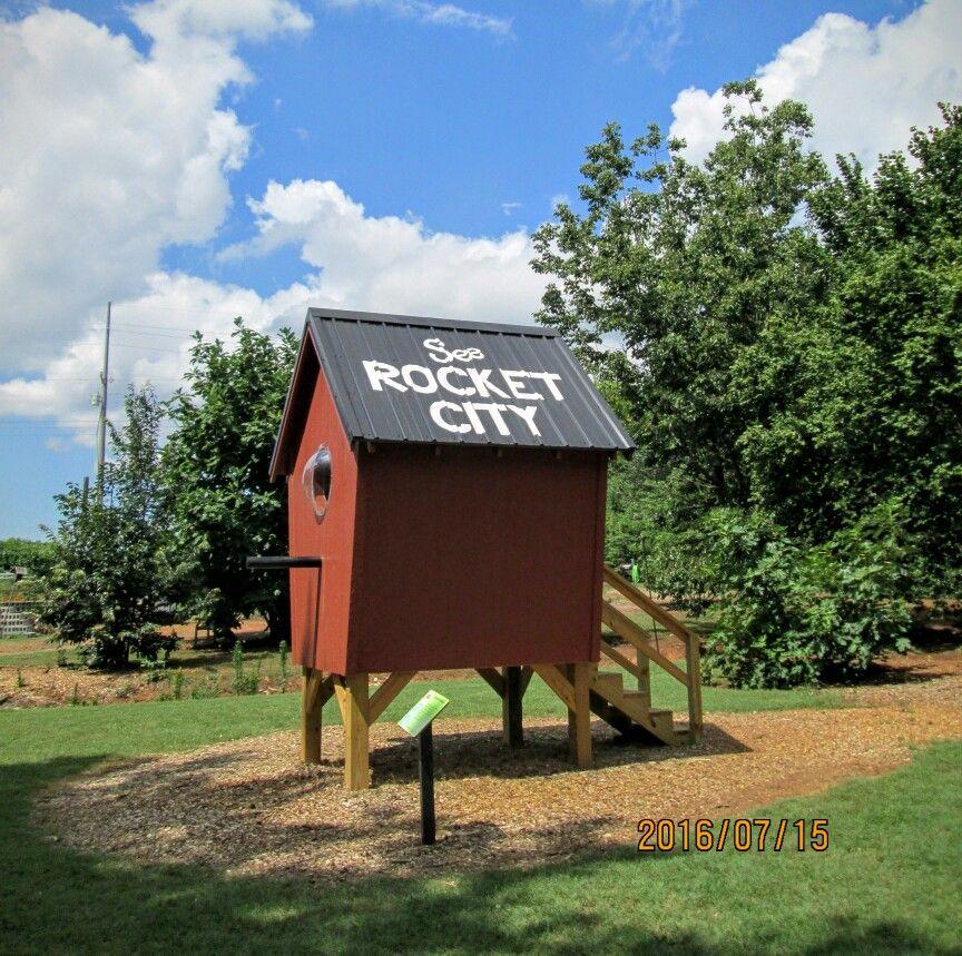 See Rocket City Birdhouse